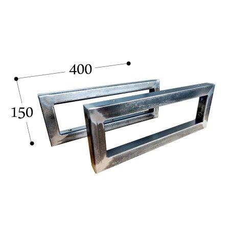 Wandkonsole - S (150x400 mm - 30x30) - 1 Paar