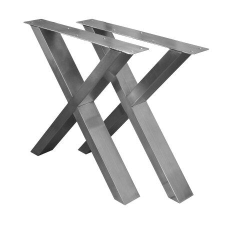 X-Tischgestell 300 mm 60x30 (h=400 mm)